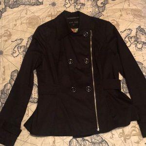 Black fall/spring jacket